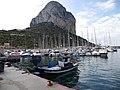 Le port de calpe et le penon de ifach - panoramio.jpg