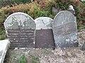 Leaning gravestones - geograph.org.uk - 595690.jpg