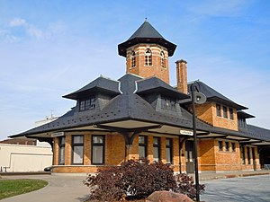 Harrisburg–Carlisle metropolitan statistical area - Image: Lebanon Reading RR Station