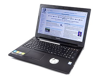 Laptop - A Lenovo laptop