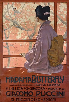 Un bel dì vedremo aria from the opera Madama Butterfly, composed by Giacomo Puccini