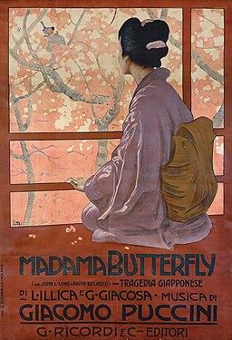 Leopoldo Metlicovitz, 1904 - Madama Butterfly