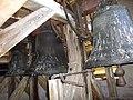 Les trois cloches de l eglise de LA HOUSSIERE.JPG