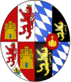 Lesser coat of arms of Maria Anna of Neuburg.png