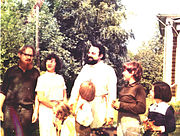 Lev and Ksenia Pokrovsky with Fr. Alexander Men.jpg