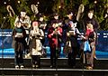 Lewisham Choral Society singing carols in Trafalgar Square for The Royal Society for The Blind.jpg