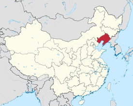 Liaoning is highlighted on this map