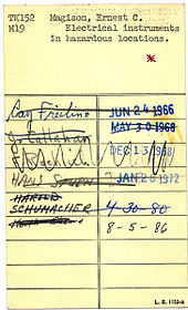 library book sign out sheet