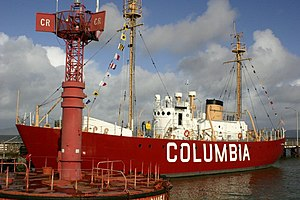 United States lightship Columbia (WLV-604) - Lightship Columbia