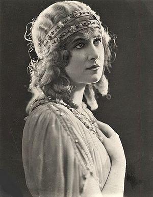 Quo Vadis (1924 film) - Lillian Hall-Davis in Quo Vadis