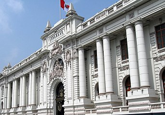 The Congress of Peru, in Lima Lima Peru - City of kings - Congress.jpg