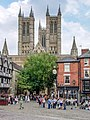 Lincoln, LEIGH-PEMBERTON HOUSE, CATHEDRAL 20060726 002.jpg