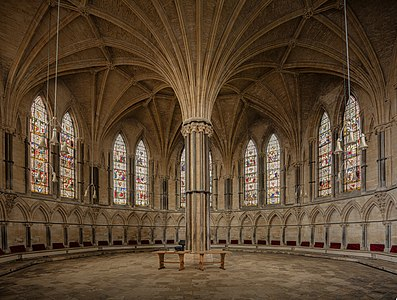 Lincoln Cathedral Chapter House