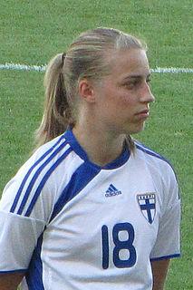 Linda Sällström Finnish footballer