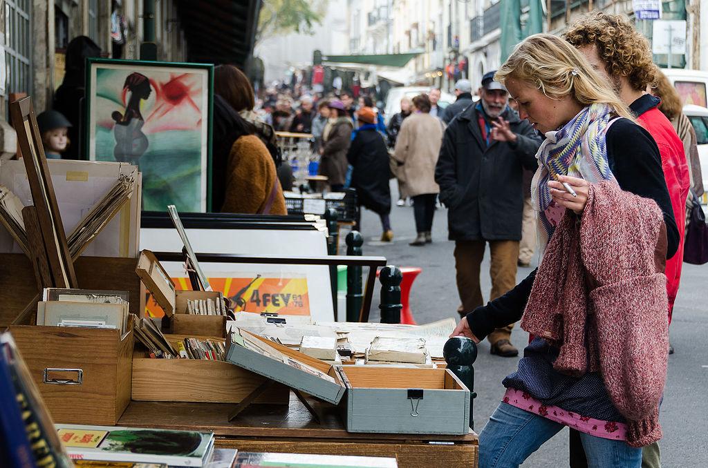 Feira da Ladra, marché aux puces de Lisbonne - Photo de Sandra Vallaure