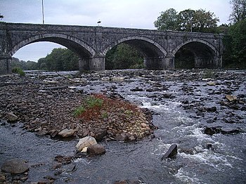 English: Listowel Bridge, Co Kerry. Bridge of ...