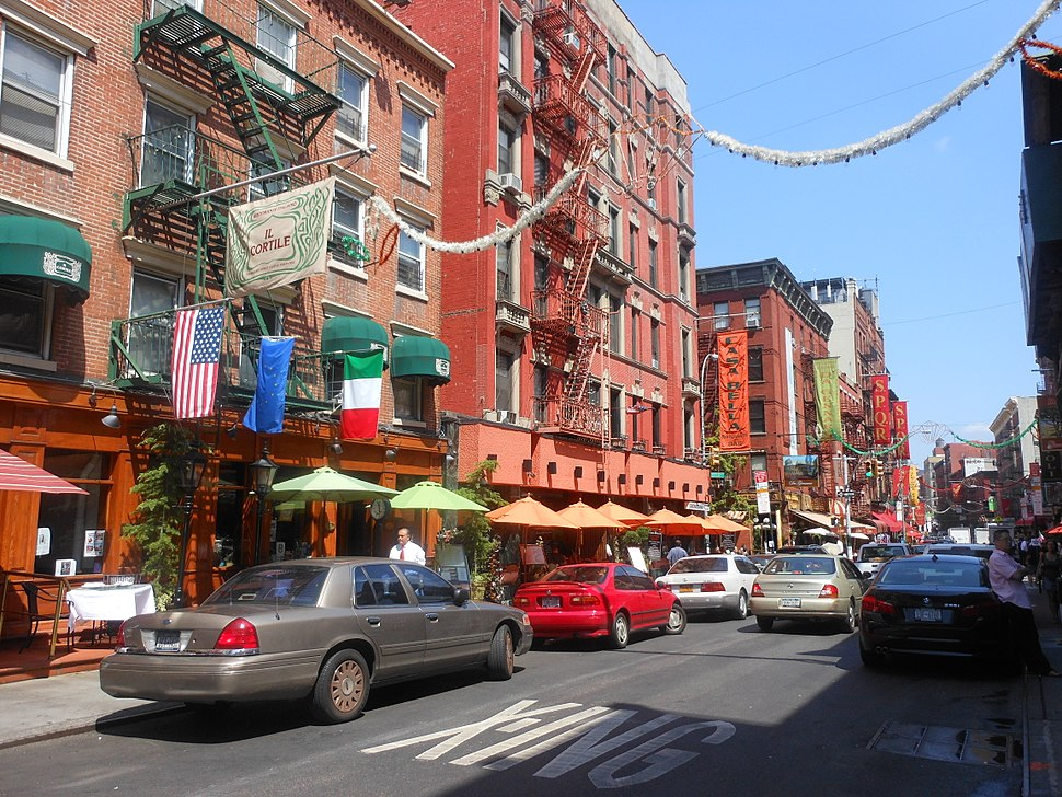 Little Italy NY Street