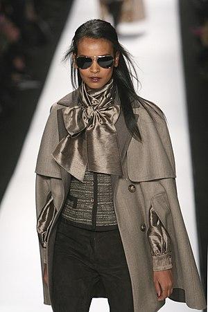 Liya Kebede - Kebede at a Carolina Herrera fashion show (2008)