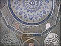Lntérieur du mausolée de Chirin Bika Aka (Shah-i-Zinda, Samarcande) (6009387663).jpg
