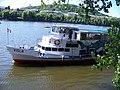 Loď Visla, u Slovanského ostrova.jpg
