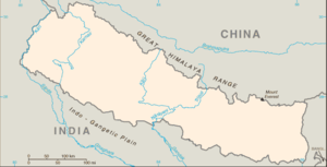 Kathmandu is located in Nepal
