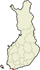 Location of Hanko in Finland.png