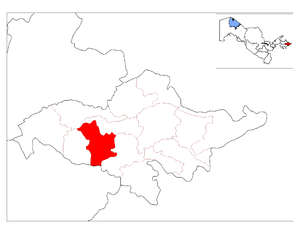 Location of Shahrixon District in Andijon Province.png