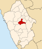 Location of the province Carhuaz Ancash.PNG