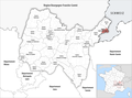 Locator map of Kanton Saint-Genis-Pouilly 2019.png