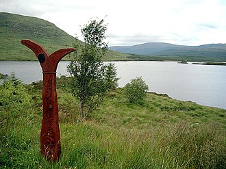 "National Cycle Network - A NCN ""Millennium Milepost"""