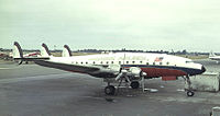 Lockheed L-049A Constellation компании Paradise Airlines