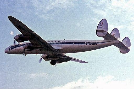 Lockheed L-1049G Super Constellation, F-BGNC, Air France Manteufel-2