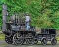 Locomotion No. 1, Pockerley Waggonway, Beamish Museum, 13 November 2013 (2) (cropped).jpg
