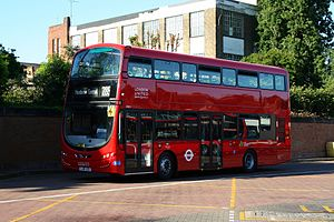 London Buses route 285 - Image: London United VH31 on Route 285, Kingston Cromwell Road (17859785494)