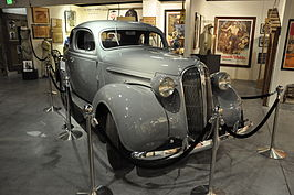 De Plymouth Coupe 1937 uit High Sierra