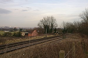 Disused railway stations on the Bristol to Exeter Line - The site of Long Ashton station.