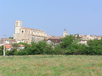 Lorgues - A general view of the village