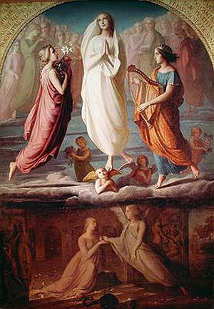 Louis Janmot - L'Assomption de la Vierge
