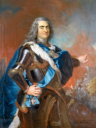 Stollen - Augustus II the Strong, by Louis de Silvestre