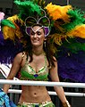 Lovely lass with nice feathers (2554867081).jpg