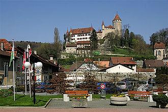 Lucens - Lucens village