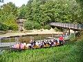 Luebben - Kahnfahrt an der Spree (Punting on the Spree) - geo.hlipp.de - 42216.jpg