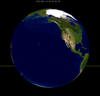 Lunar eclipse from moon-2021Nov19.png