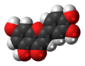 Luteolin molecule spacefill.png