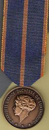 Luxembourg Militay Medal obv.jpg