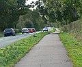 Lyndon Road and cycleway - geograph.org.uk - 1011075.jpg