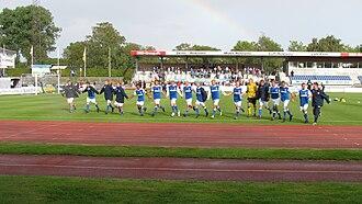 Lyngby Stadium - Image: Lyngby bk fc fyn