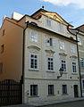 Měšťanský dům U bílé boty (Malá Strana), Praha 1, Na Kampě 13, Malá Strana.JPG