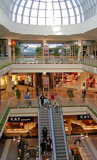 Mall of American tiloja.