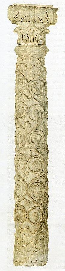Chapiteau ionique (Ra 500 d)